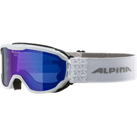 Alpina Pheos MM Goggles Junior white blue
